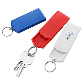 Key ring safe-box