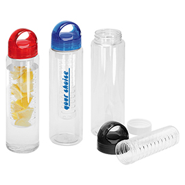 Drinking bottle with infuser